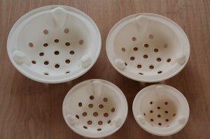 画像1: 炭焼き 水コンロ用 陶製五徳