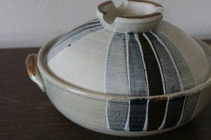 画像1: トクサ 絵付け土鍋