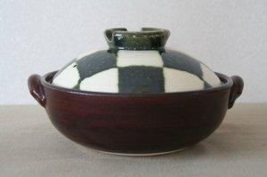 画像2: 織部市松 土鍋