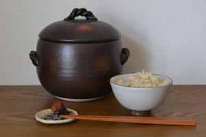 画像1: 玄米ごはん2合鍋