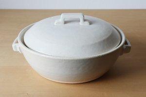 画像1: スタイル土鍋 白