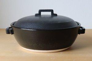 画像1: スタイル土鍋 黒